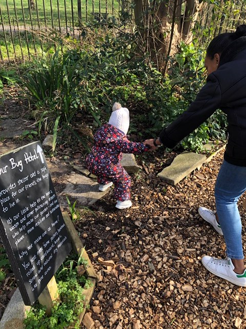 Story Stompers at Brockwell Park Greenhouses