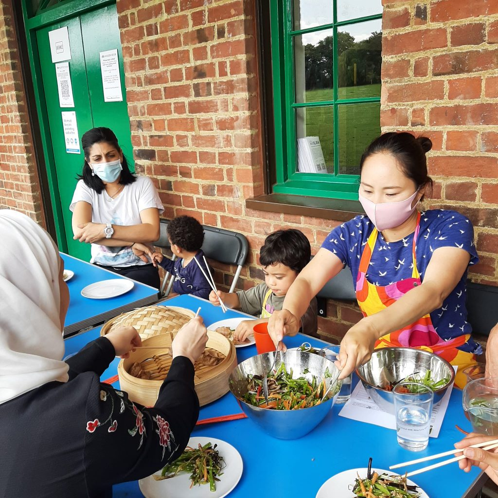 Cultural cook-ups at the Woodfield Pavillion